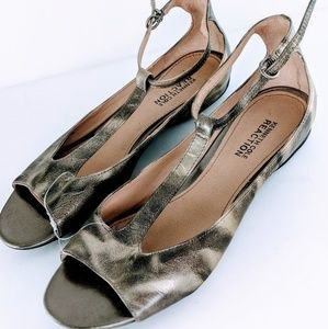 Kenneth Cole Reaction Shoes - Kenneth Cole Reaction Green Straight Lace Flats